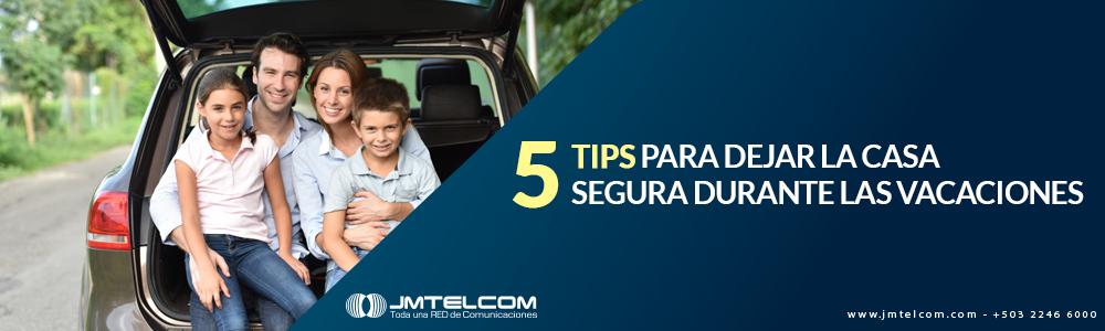 5 tips para dejar la casa segura en vacaciones