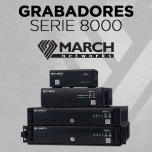 Grabadores Híbridos Serie 8000