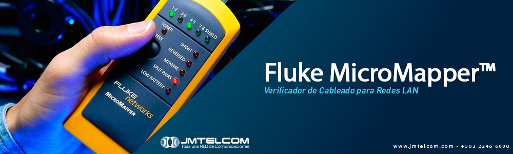 Fluke Micromapper y Switches DELL Serie X