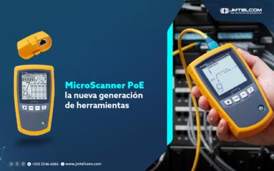 MicroScanner PoE la nueva generación de herramientas