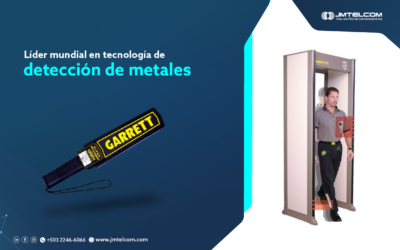 Líder mundial en tecnología de detección de metales