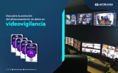 Descubre la evolución del almacenamiento de datos en videovigilancia